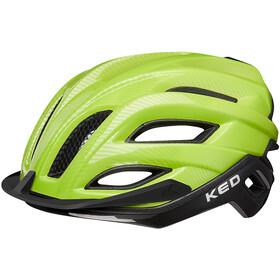 KED Champion Visor Pyöräilykypärä , vihreä/musta